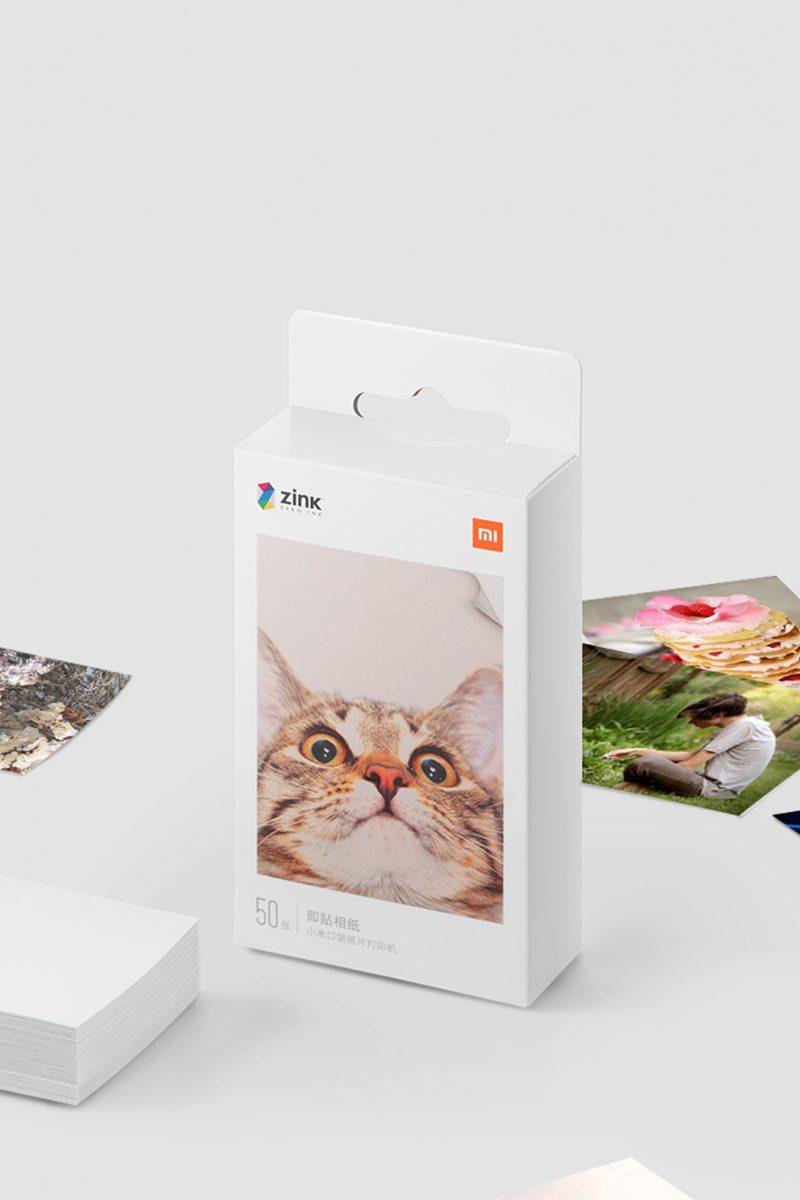 Mi Portable Photo Printer Paper Lifestyle